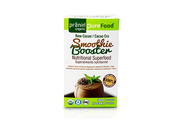 PureFood Smoothie Booster – Raw Cacao
