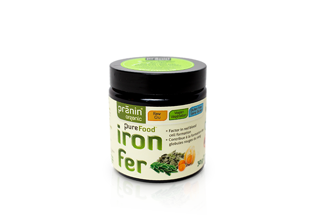 Organic Vegan Iron Supplement Non Constipating No Nausea