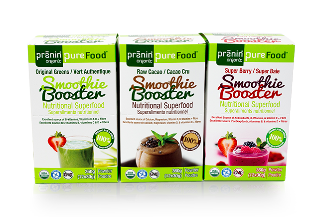 PureFood Smoothie Booster Trio