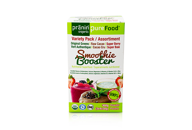 PureFood Smoothie Boosters – Variety Pack
